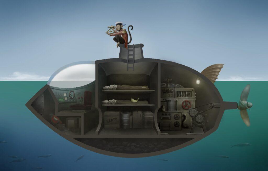 Mango and the Submarine