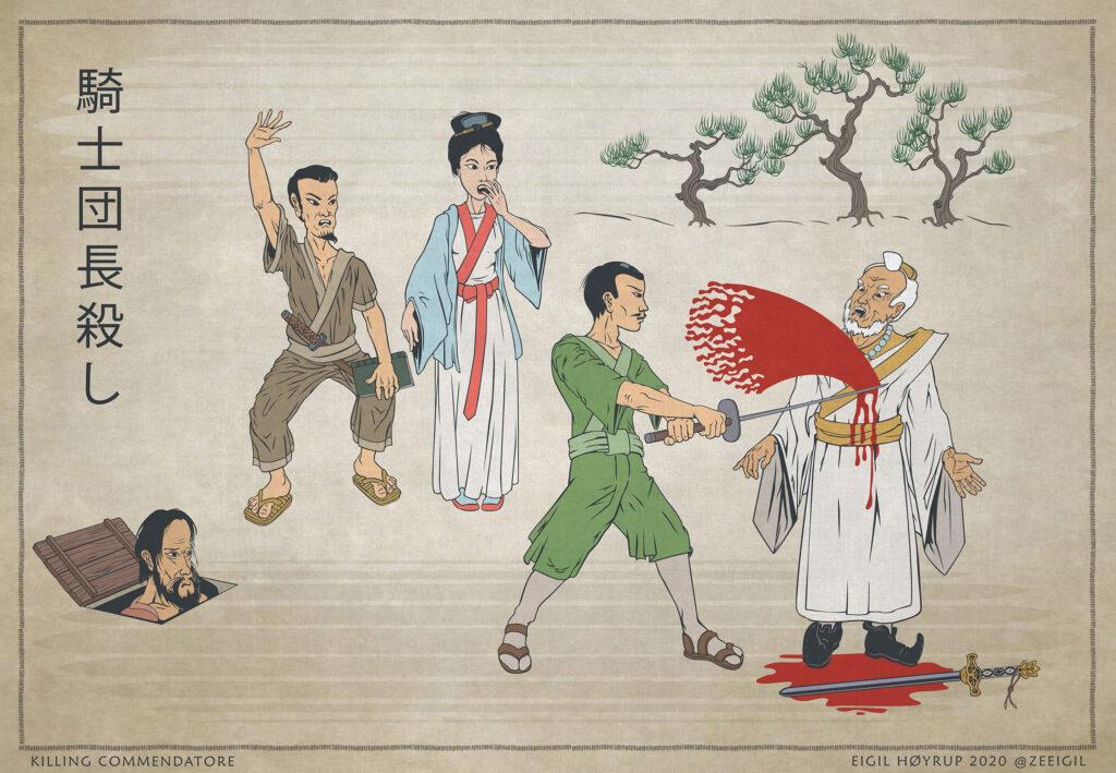 Killing commendatore - 騎士団長殺し - L'assasino del Commendatore